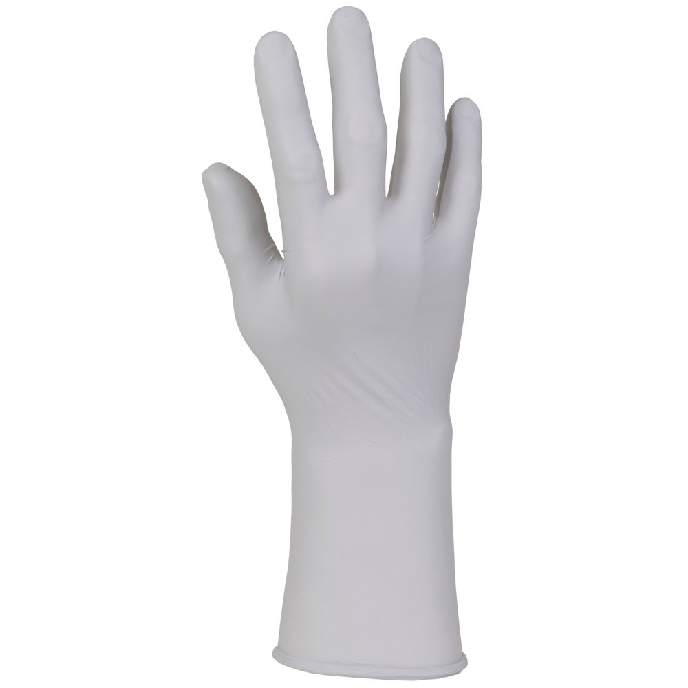 "Kimtech™ G5 Sterling™ Nitrile Gloves (98186), ISO Class 5 or Higher Cleanrooms, Ambidextrous, Powder Free, 12"", Medium, Double Bagged, 250 / Bag, 6 Bags, 1,500 Gloves / Case - 98186"