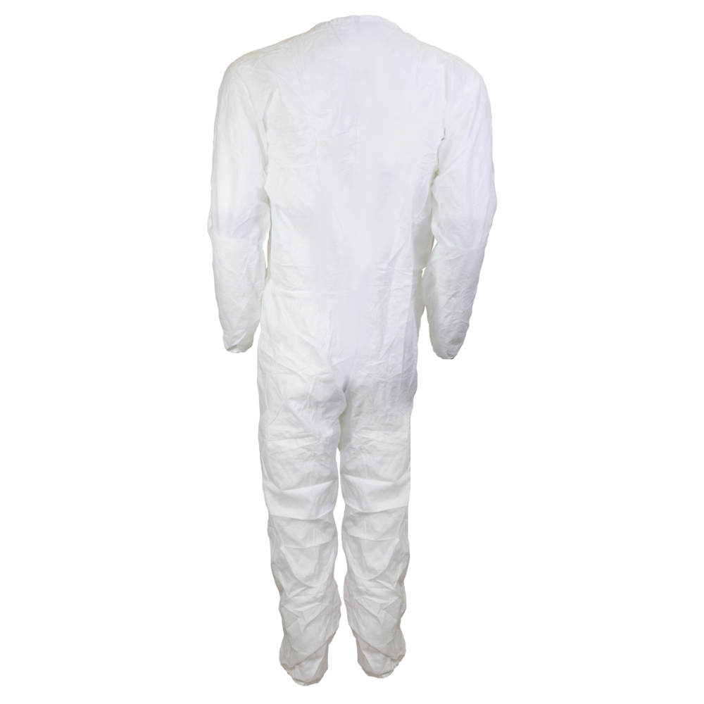 Kimtech™ A5 Clean Processed Cleanroom Coveralls (88846), Mandarin Collar, Thumb Loops, Reflex Design, 2XL, 25 / Case - 88846
