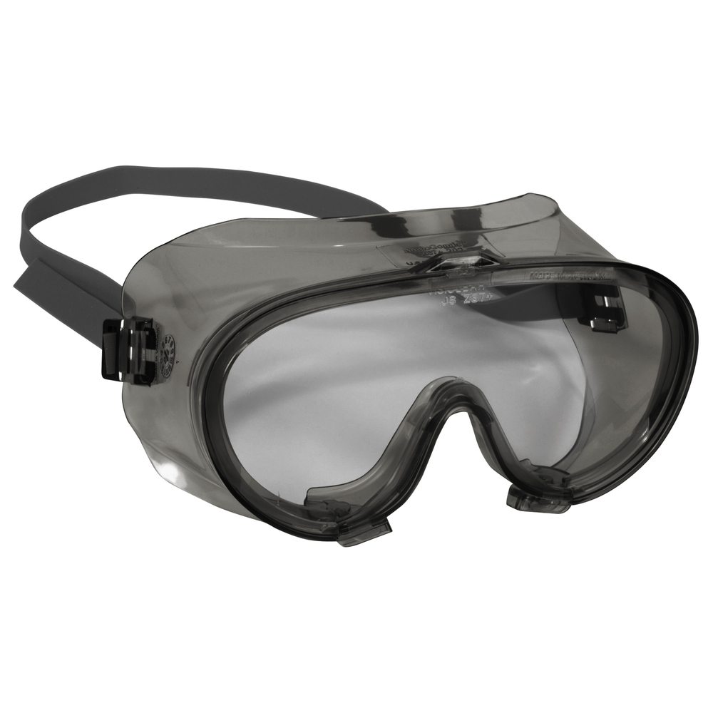 KleenGuard™ V80 Monogoggle 211 Goggle Protection (16670), Clear Anti-Fog Lens, Smoke Frame, 36 Pairs / Case - 16670