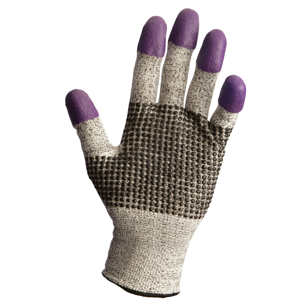 KleenGuard™ G60 Purple Nitrile* Cut Gloves - 43331