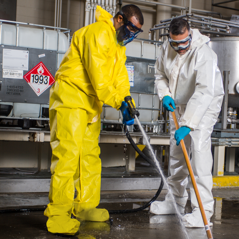 KleenGuard™ A71 Chemical Spray Protection Coveralls M - 46770