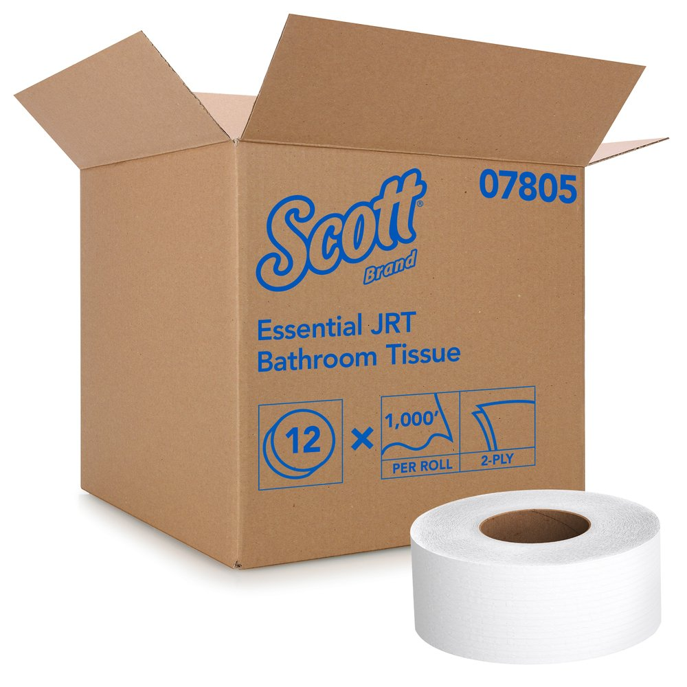 Scott® Essential Jumbo Roll Bathroom Tissue