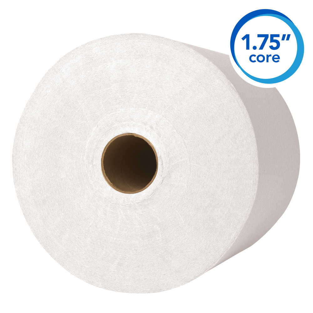 "Scott® Essential High Capacity Hard Roll Paper Towels (02000), 1.75"" Core, White, 9500' / Roll, 6 Rolls / Convenience Case, 5,700' / Case - 02000"