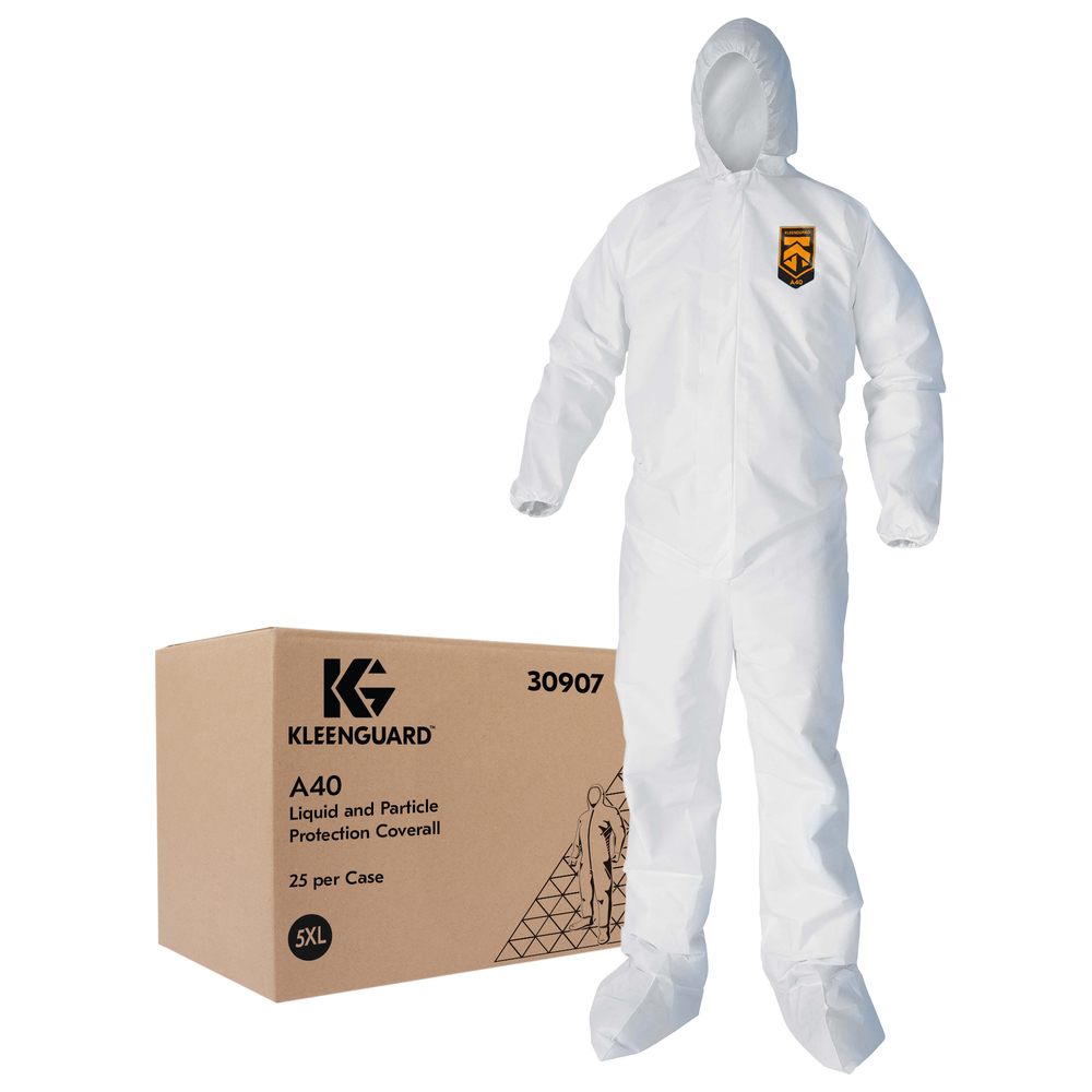 KleenGuard™ A40 Liquid & Particle Protection Coveralls - 30907