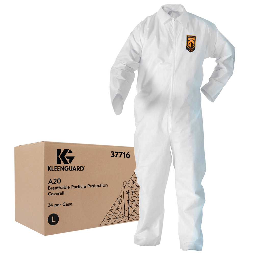 KleenGuard™ A20 Breathable Particle Protection Coveralls