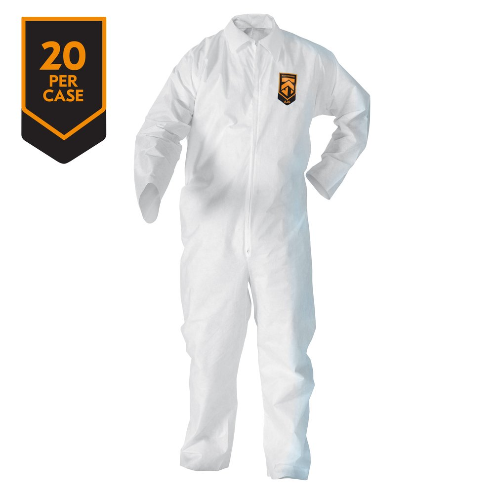 KleenGuard™ A20 Breathable Particle Protection Coveralls - 37715