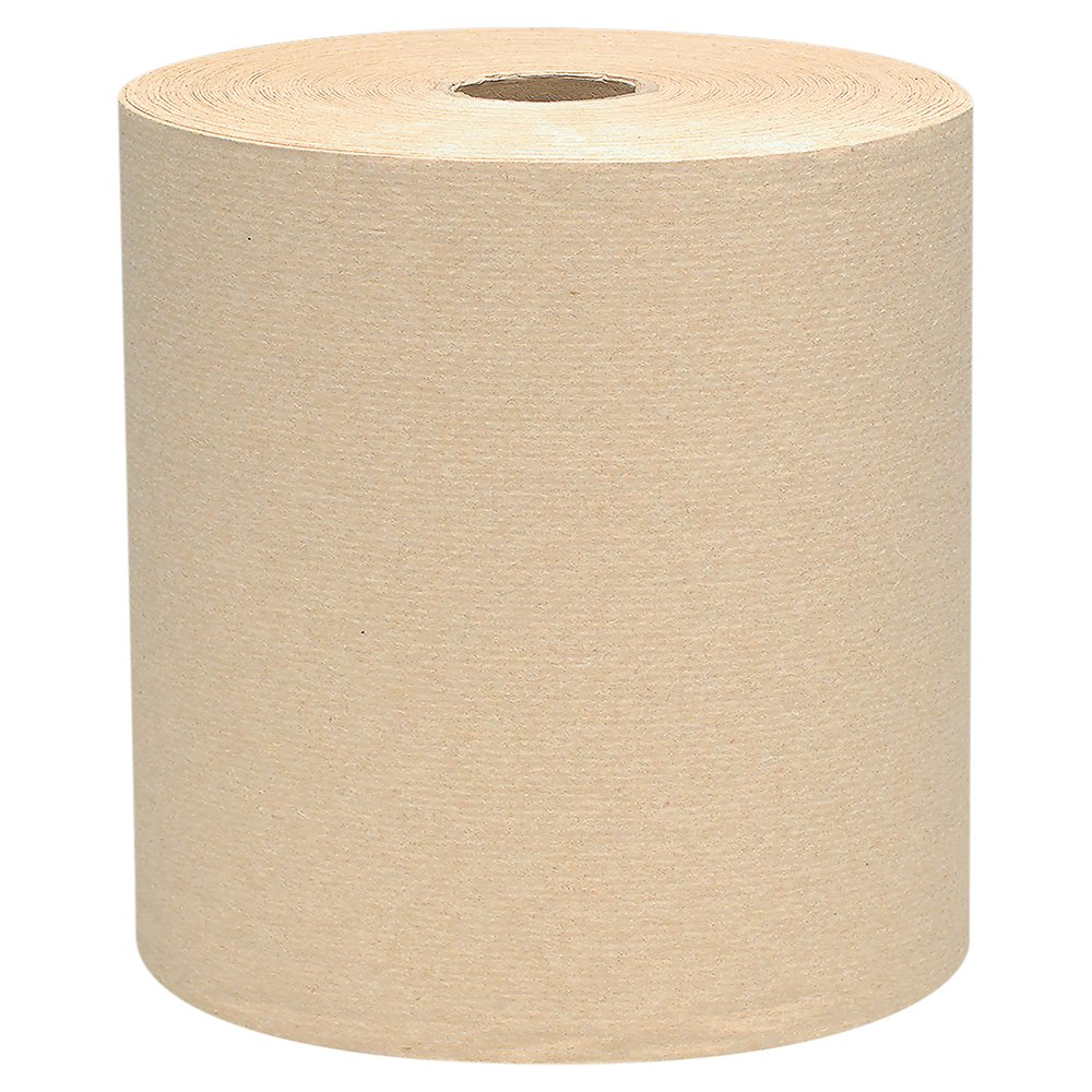 Scott® Essential Hard Roll Paper Towels (04142), Natural, 800' / Roll, 12 Rolls / Case, 9,600' / Case - 04142